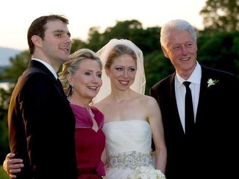 Chelsea Clinton e Marc Mezvinsky - fotos do casamento