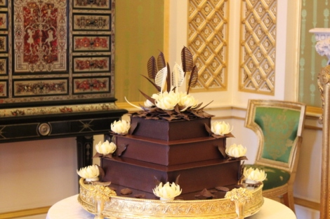 Bolo de casamento - bolo de casamento de chocolate - Casamento real - Royal wedding - Kate e William