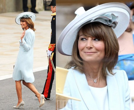 Casamento - Kate e William - Catherine e William - Convidados - Roupas - Vestidos - Chapeus - Carole Middleton
