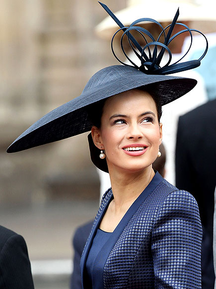 Casamento - Kate e William - Catherine e William - Convidados - Roupas - Vestidos - Chapeus - Sophie Winkleman