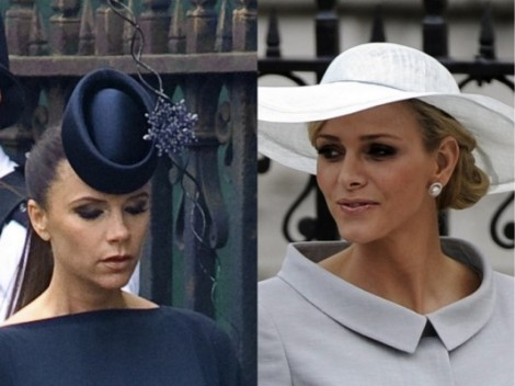 Casamento - Kate e William - Catherine e William - Convidados - Roupas - Vestidos - Chapeus - Victoria Beckham - Charlene de Mônaco