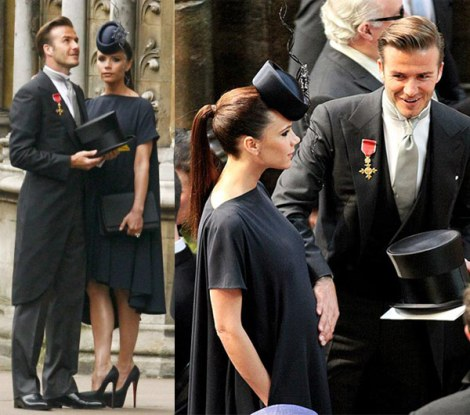 Casamento - Kate e William - Catherine e William - Convidados - Roupas - Vestidos - Chapeus - Victoria e David beckham