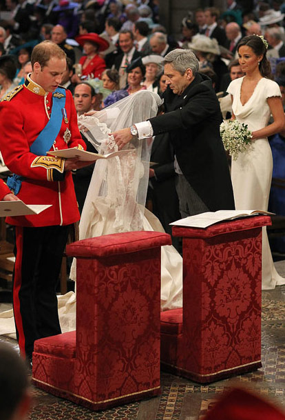 Cerimônia de casamento - Kate e William - Casamento real - Royal Wedding - Ceremony