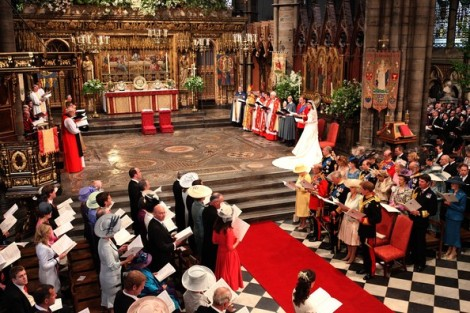 Decoração - Casamento - Kate e William - Catherine e William - Westminster Abbey - Abadia de Westminster - Royal wedding
