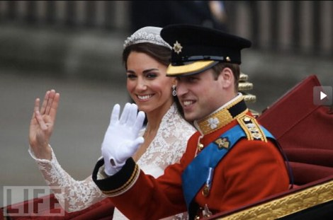 Desfile - Casamento real - Royal wedding - Kate e William - Catherine e William - Londres