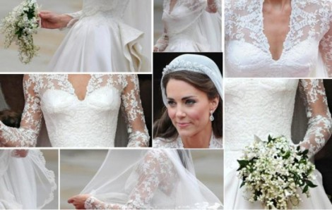 Detalhes - Casamento real - Wedding royal - Brincos - Bouquet - Buquê - Tiara - Anel de noivado - Kate Middleton - Catherine e William - Kate e William