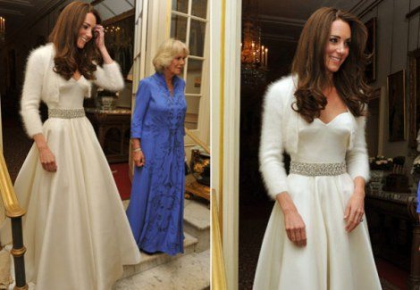Jantar - Casamento - Wedding - Segundo vestido - Kate e William - Pippa Middleton