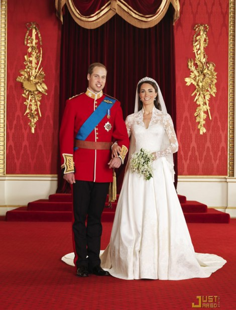 Principe William - Kate Middleton - Fotos oficiais - Casamento - Wedding