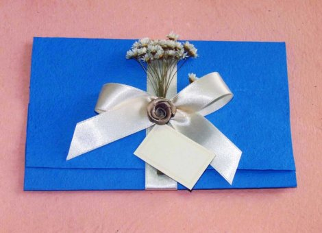 Convite de casamento com papel reciclado - Convite de casamento reciclado - APAE Monte Alto